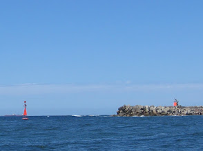Photo: Port channel marker