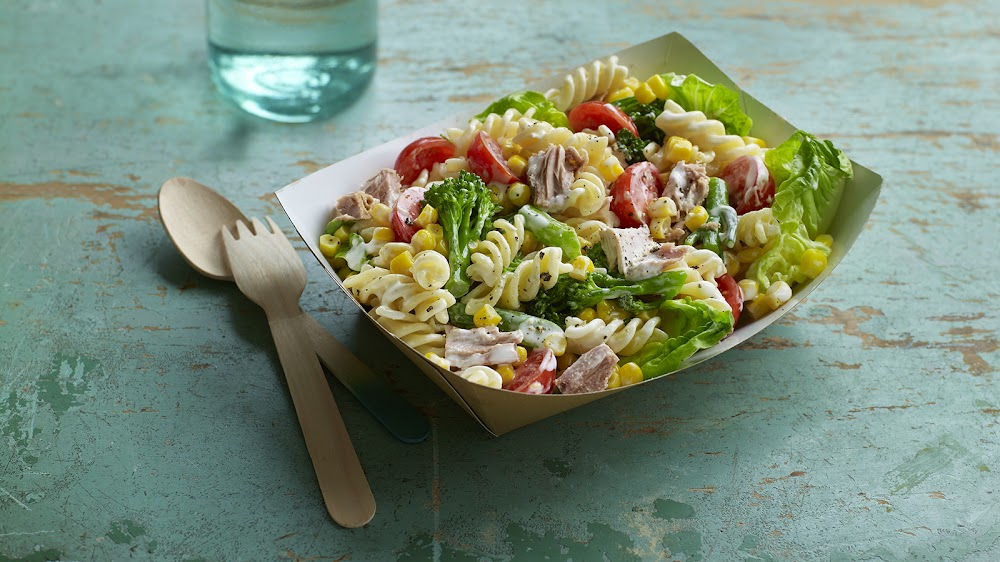 Pasta Dish called Pasta salad