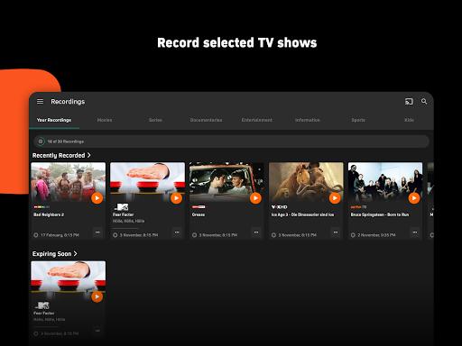 Zattoo - TV Streaming App  screenshots 12