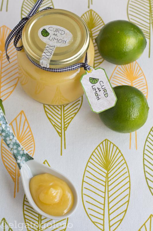 Curd de limón ¡en microondas!