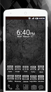 Galaxy Glass Launcher : Glass Theme & Icon Pack - náhled