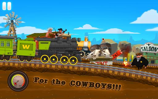 Western Train Driving Race screenshot 16