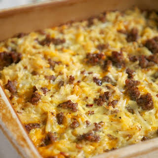 Breakfast Casserole Shredded Hash Browns Recipes.