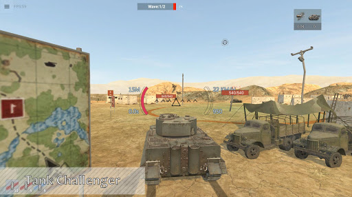 Panzer War 2019.2.7.5 Vista APK MOD screenshots 1