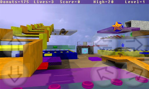 Donut Man 3D Alpha  screenshots 1