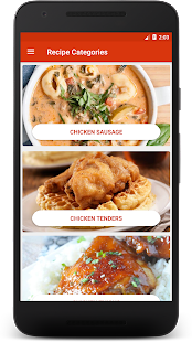 Download Chicken Recipes KFC: KFC Style Chicken Recipes for Windows Phone apk screenshot 1