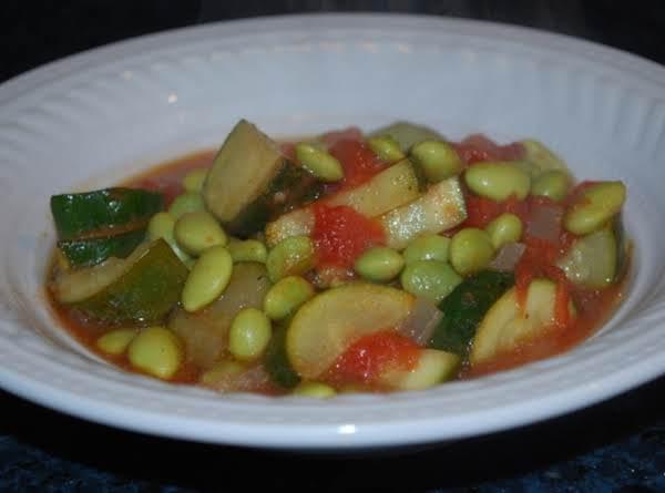 Egyptian Edamame Stew