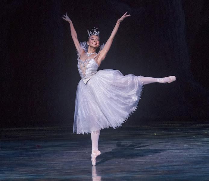 Photo: Jing Zhang as Cinderella's Fairy Godmother. Photo by Robert Shomler.