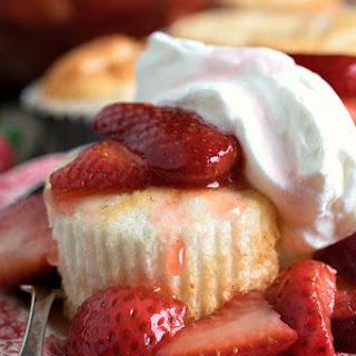 Strawberry Shortcake with Mini Angel Food Cakes Recipe