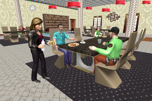 Virtual Waitress : Hotel Manager Simulator apktram screenshots 2