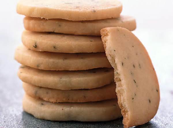 Sage Shortbread Cookies Recipe