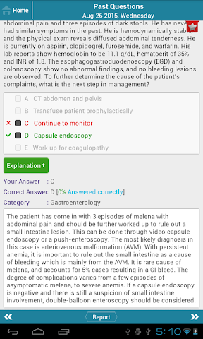 android Family Med Question of the Day Screenshot 12