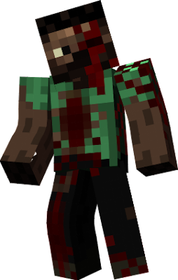 Zombie Steve made by JDJH4 but with a pose.