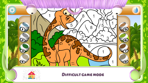 Paint by Numbers - Dinosaurs 2.2 screenshots 4