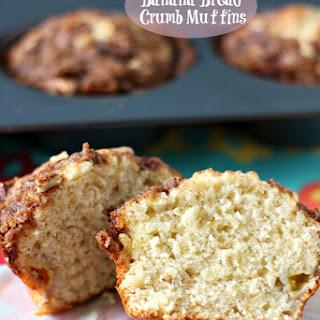 Banana Bread Crumb Muffins.
