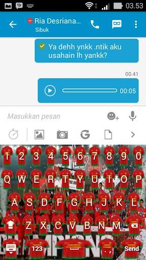 Icon Semen Padang Keyboard