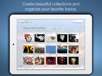 Pearltrees - screenshot thumbnail