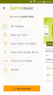 Bankia Wallet Screenshot