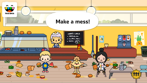 Toca Life: School app for Android screenshot