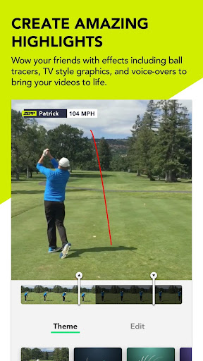 Zepp Golf Swing Analyzer - screenshot