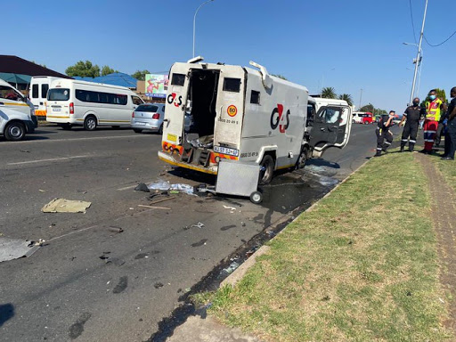 WATCH | Tow truck driver killed after pursuing CIT heist robbers - reports