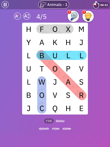 Word Search Blast - Word Search Games 1.2.0 screenshots 24