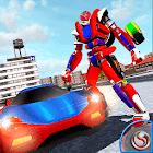Incredible Robot Car Transform Battle icon
