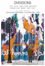 Photo: Affiche de l'exposition. Extrait murs d'Azot.