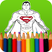 Super Hero Coloring Books