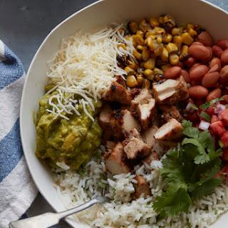 DIY Chipotle Burrito Bowl.