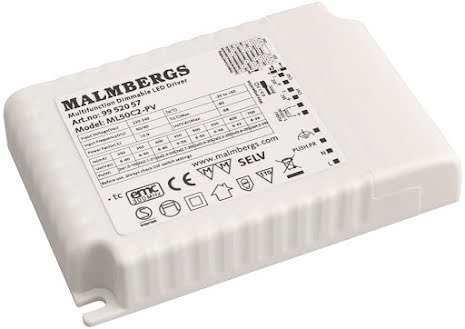 Malmbergs LED-Driver 2x25W
