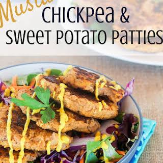 Chickpea & Sweet Potato Patties.