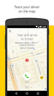Yandex.Taxi screenshot 01
