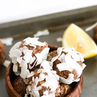 Lemon Coconut Bites.