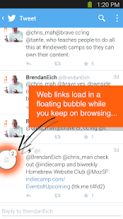 Link Bubble- screenshot thumbnail