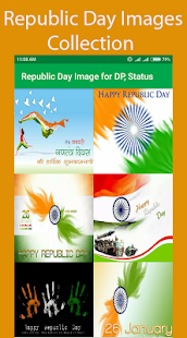 Republic Day Image for DP, Status - náhled
