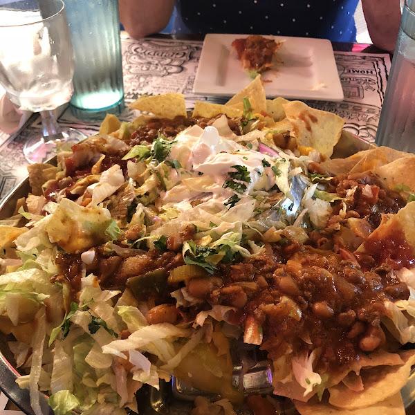 Delicious nachos!!!
