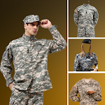 US Army and commando uniform Photo Suit Editor Icon