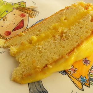 "Orange cake from ""Branca de Neve"""