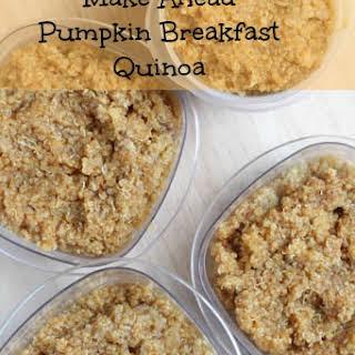 Pumpkin Breakfast Quinoa.