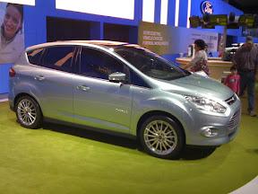 Ford C-Max Energi, Passenger Side