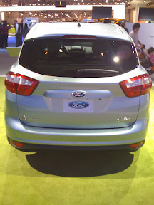 Ford C-Max Energi, Rear Cargo Space