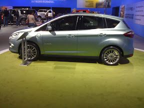 Ford C-Max Energi, Driver's Side and Charge Plug