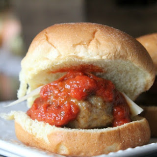 20 Minute Meatball Sliders.