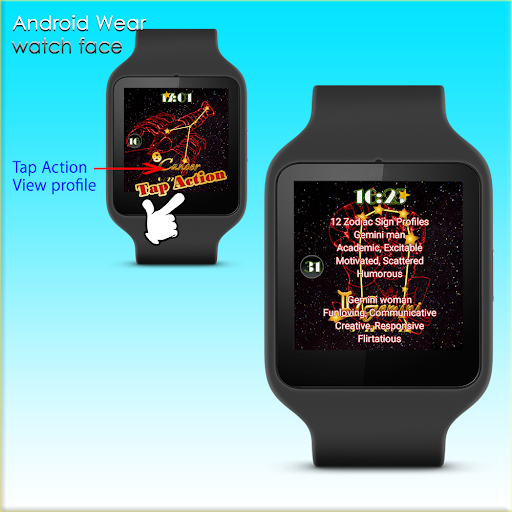 12Zodiac sign Cancer WatchFace
