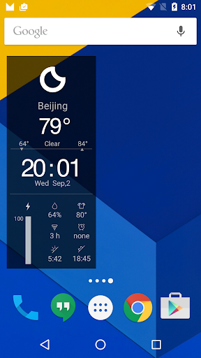 Clock Weather Fresh