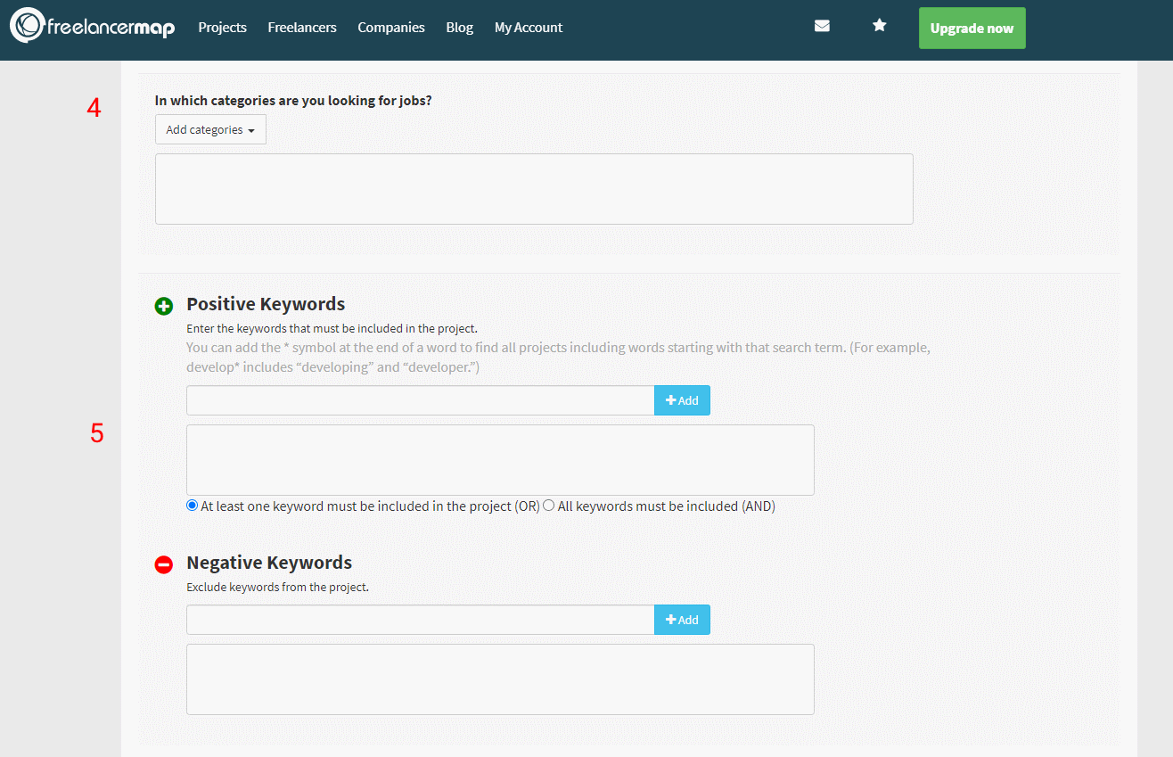 Setting Up The Project Agent (2/3)