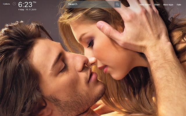 Lip Kiss Wallpapers Theme New Tab