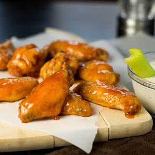 Crispy Baked Chicken Wings.