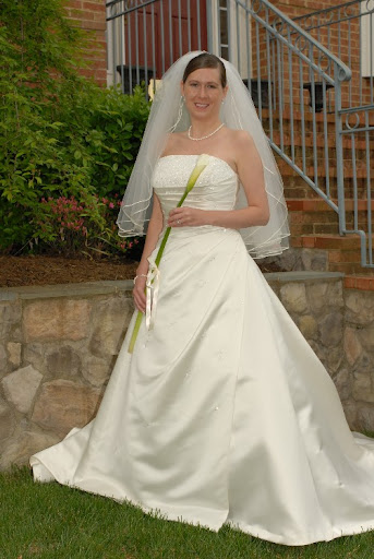 Tulip + Ivory Wedding Gown